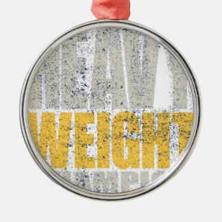 Ornamento De Metal Heavyweight
