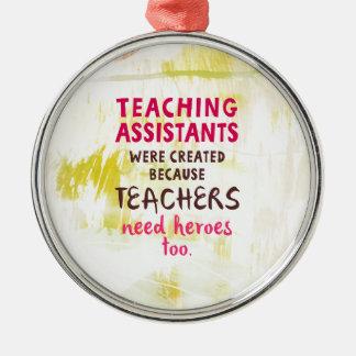Ornamento De Metal heróis da necessidade 870.teachers