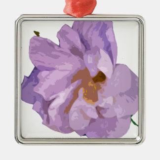 Ornamento De Metal hibiscus