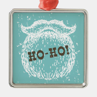 Ornamento De Metal Ho-Ho papai noel Noel do feriado do Natal