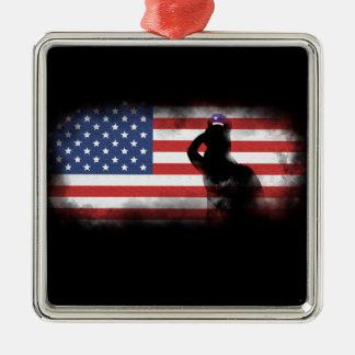 Ornamento De Metal Honre nossos heróis no Memorial Day