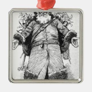 Ornamento De Metal I_Am_Santa_Claus