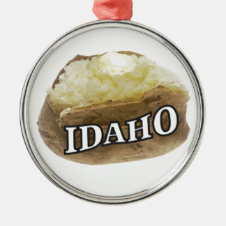 Ornamento De Metal Idaho spud