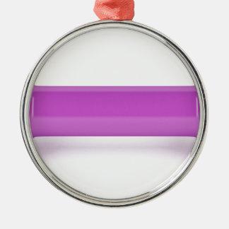 Ornamento De Metal Ideia dianteira do dumbbell cor-de-rosa