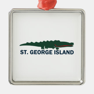 Ornamento De Metal Ilha de St George