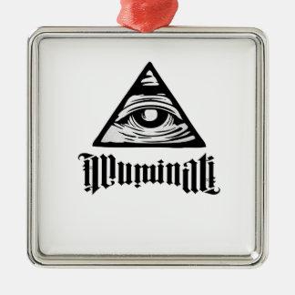 Ornamento De Metal Illuminati