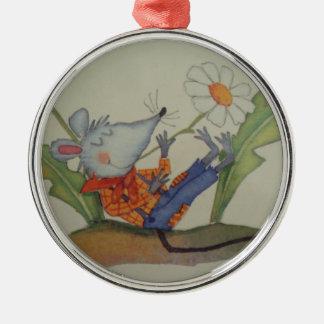Ornamento De Metal imagem de um ratinho