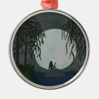 Ornamento De Metal Impressão da arte da solidão
