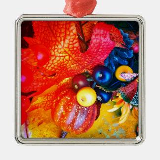 Ornamento De Metal impressão do outono