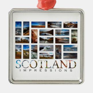 Ornamento De Metal Impressões de Scotland