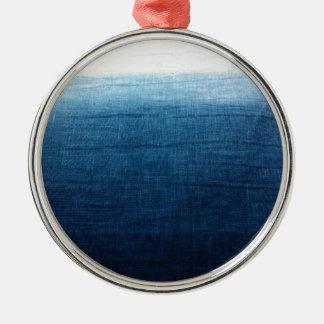 Ornamento De Metal Índigo minimalista da aproximação 2