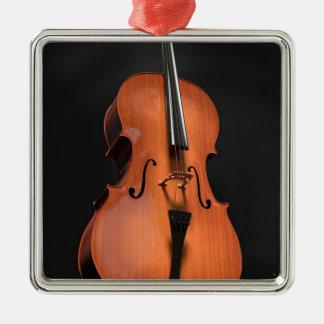 Ornamento De Metal Instrumento amarrado cordas da madeira do