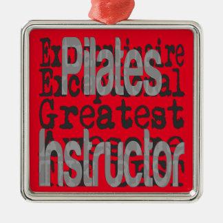 Ornamento De Metal Instrutor de Pilates Extraordinaire