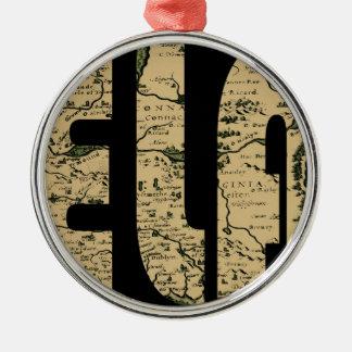 Ornamento De Metal ireland1598b