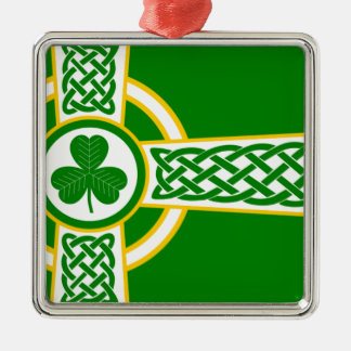 Ornamento De Metal Irish_Celtic_Cross