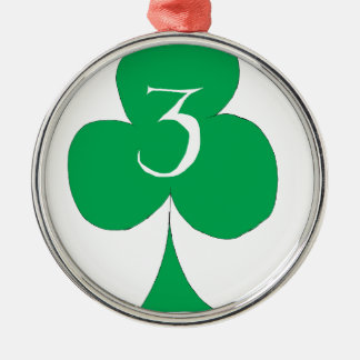 Ornamento De Metal Irlandês afortunado 3 dos clubes, fernandes tony