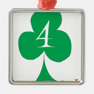 Ornamento De Metal Irlandês afortunado 4 dos clubes, fernandes tony