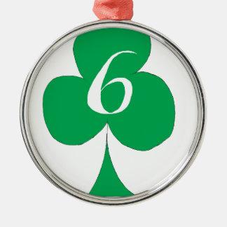 Ornamento De Metal Irlandês afortunado 6 dos clubes, fernandes tony