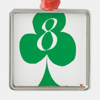 Ornamento De Metal Irlandês afortunado 8 dos clubes, fernandes tony