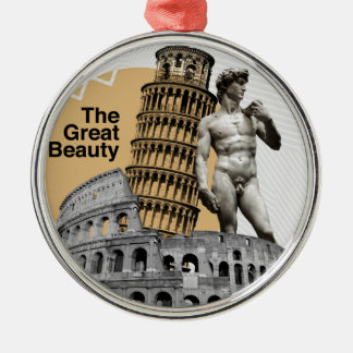 Ornamento De Metal Italia, a grande beleza