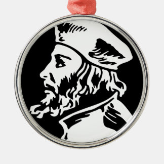 Ornamento De Metal Jan Hus