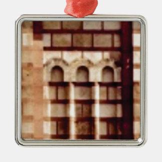 Ornamento De Metal janela marrom do bloco