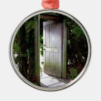 Ornamento De Metal Jardim secreto 1