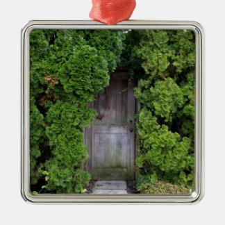 Ornamento De Metal Jardim secreto 2