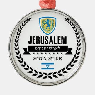 Ornamento De Metal Jerusalem
