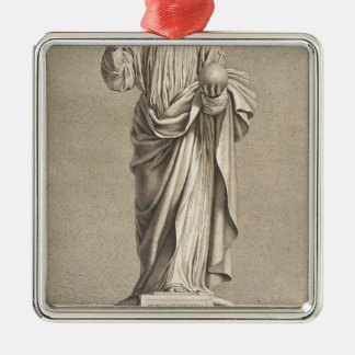 Ornamento De Metal Jesus Cristo