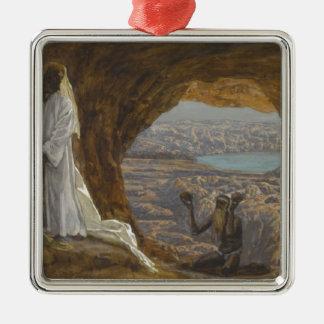 Ornamento De Metal Jesus tentou na região selvagem