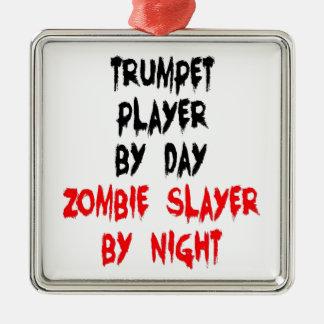 Ornamento De Metal Jogador de trombeta do assassino do zombi