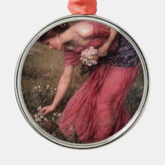 Ornamento De Metal John William Waterhouse - narciso - belas artes