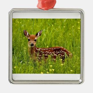 Ornamento De Metal Jovem corça dos cervos do bebê