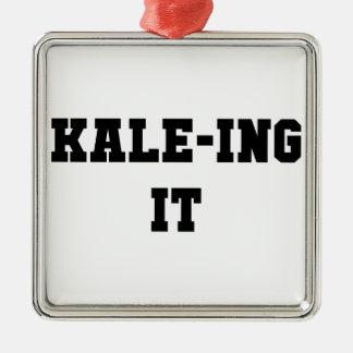 Ornamento De Metal Kaleing ele