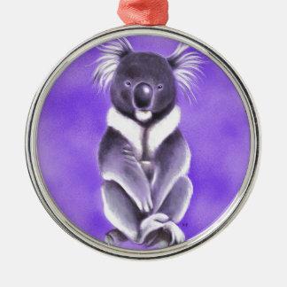 Ornamento De Metal Koala de Buddha