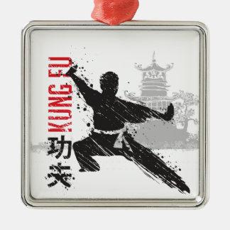 Ornamento De Metal Kung Fu