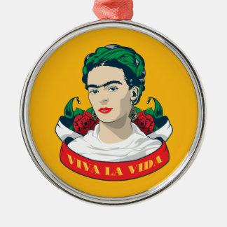 Ornamento De Metal La Vida de Frida Kahlo | Viva