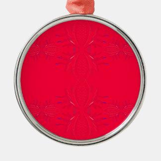 Ornamento De Metal Laço do vermelho dos elementos do design