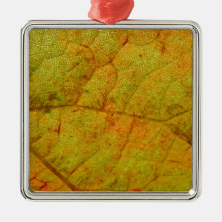 Ornamento De Metal Lado de baixo da folha da uva