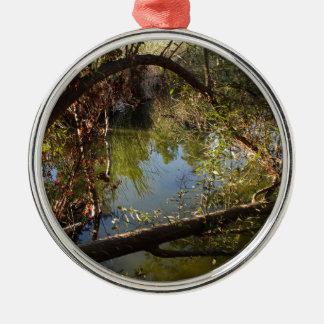 Ornamento De Metal Lago 4 park da garganta de Franklin