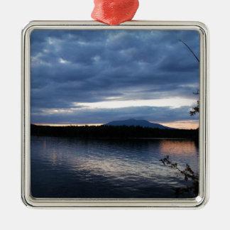Ornamento De Metal Lago Maine Katahdin Millinocket da montagem no