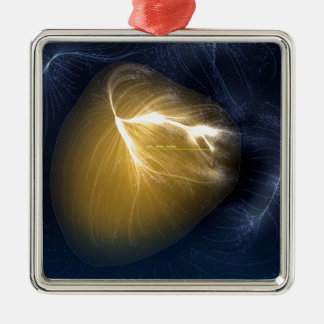 Ornamento De Metal Laniakea - nosso Supercluster local