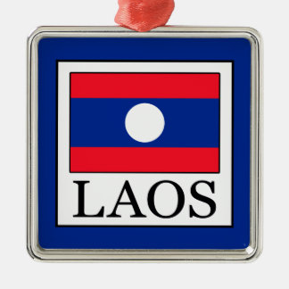 Ornamento De Metal Laos