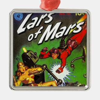Ornamento De Metal Lars de Marte