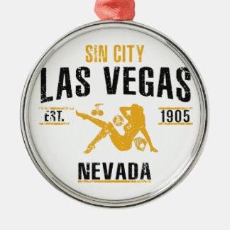 Ornamento De Metal Las Vegas