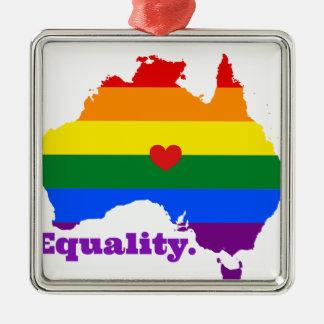 ORNAMENTO DE METAL LGBT AUSTRÁLIA