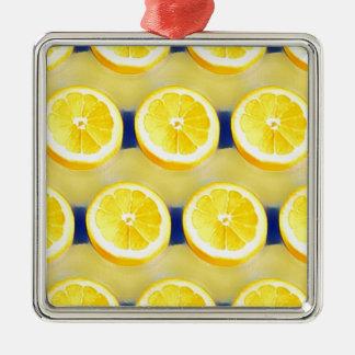 Ornamento De Metal Limonada