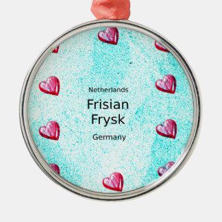 Ornamento De Metal Língua do Frisian (Alemanha e Países Baixos)