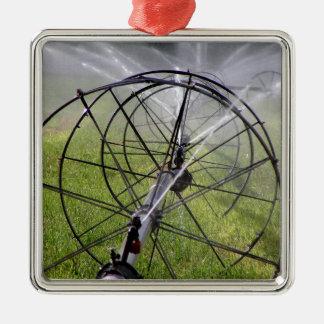 Ornamento De Metal Linha da roda da irrigação